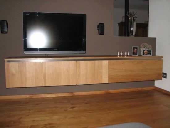 Eiken TV kasten op maat