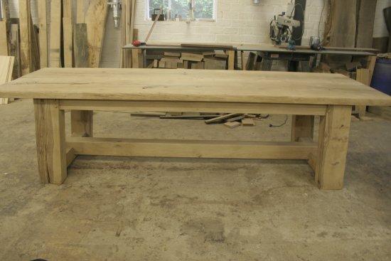 Oud eiken tafels eiken meubelen meubelmakerij geeraths