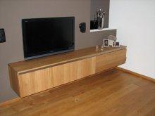 Zwevend tv meubel eiken meubelmakerij geeraths - Eigentijdse patio meubels ...